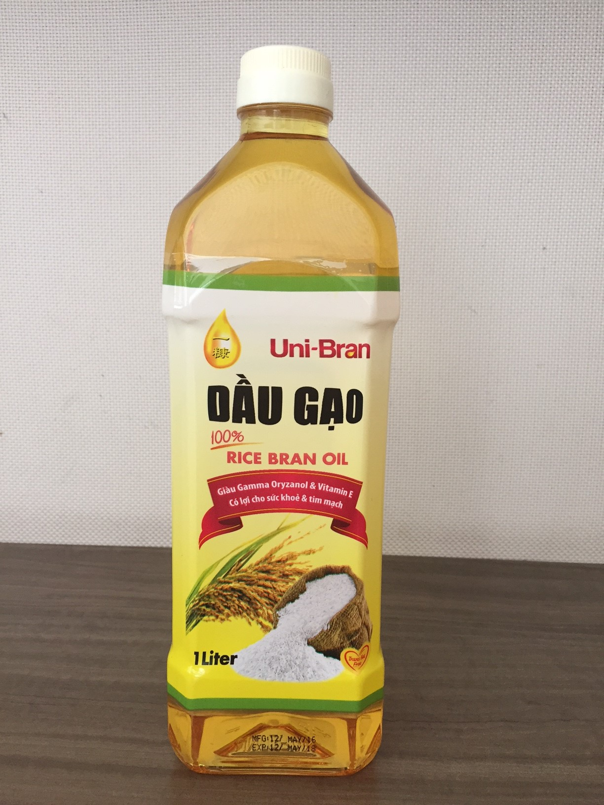 100% Refined Rice Bran Oil